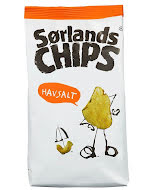 Sørlands Chips Havsalt 200 g