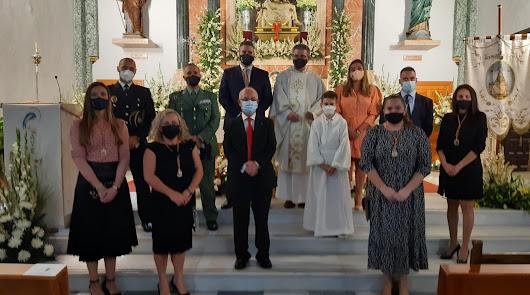 Viator rinde homenaje a su patrona, la Virgen de las Angustias