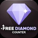 Free Diamonds & Elite Pass Counter For Garena Fire icon