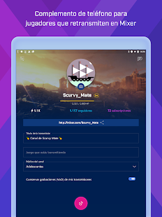 Mixer Create Screenshot