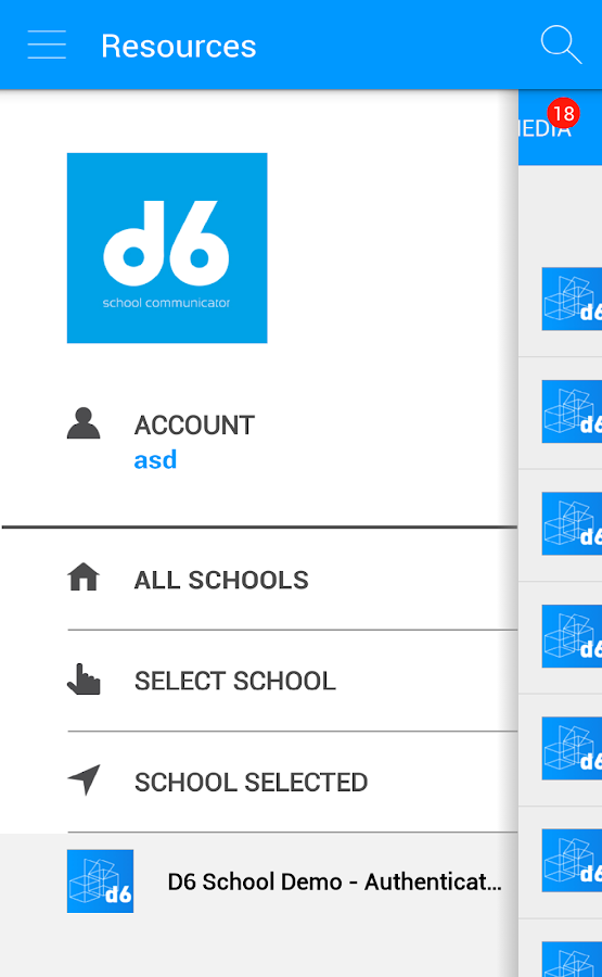 d6 School Communicator- screenshot