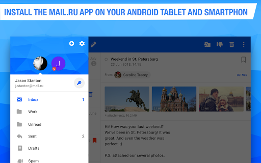 Mail.ru - Email App 11.16.0.29372 screenshots 9