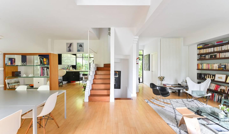 Maison avec jardin et terrasse Paris 20ème