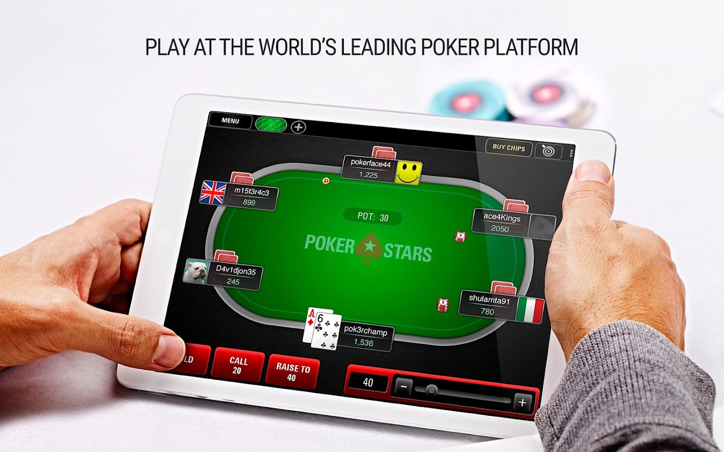 pokerstars sh download