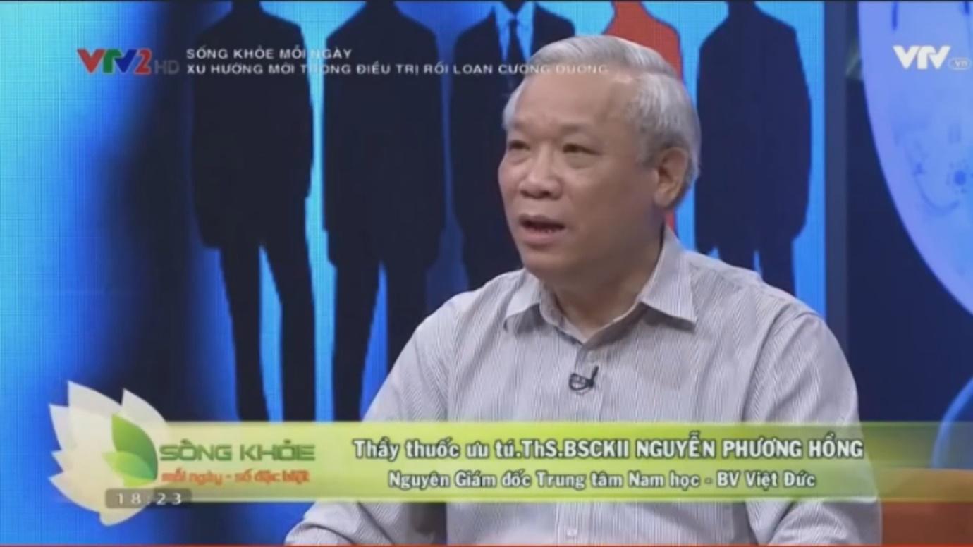 Bác sĩ Nguyễn Phương Hồng: Điều trị viêm tuyến tiền liệt như thế nào?  - Ảnh 1