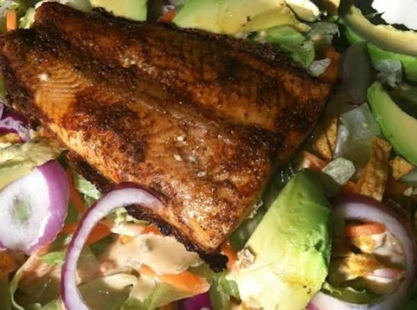 Southwest Salmon Salad Recipe