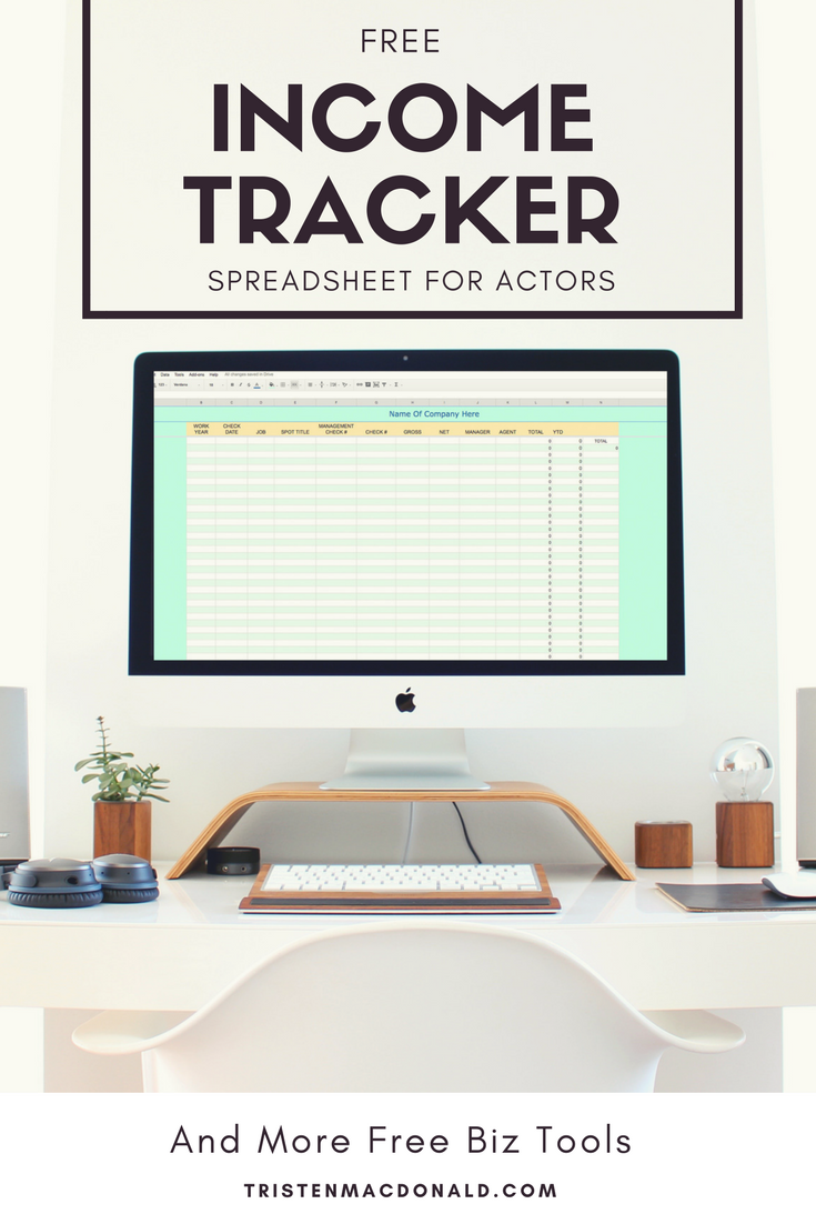 Click Here To Get Your Free Income Tracker Spreadsheet!