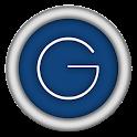 GeOS blue icon