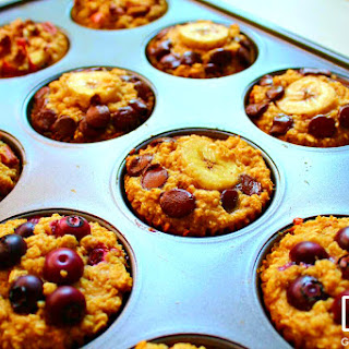 Protein Oatmeal Muffins.