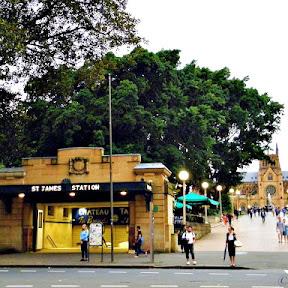 【世界の駅舎】オーストラリア・シドニーにあるアール・デコ様式の駅「セント・ジェームズ駅(St. James Station)」