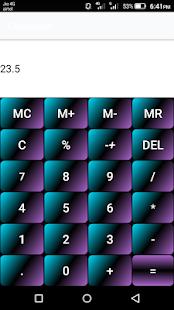 Standard Calculator screenshot