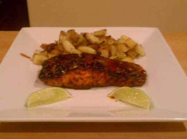 Orange-glazed Cajun Salmon Recipe