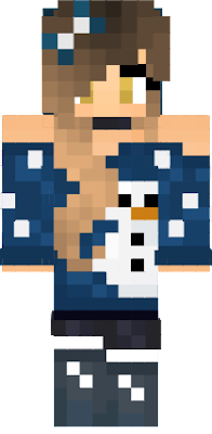 Youtuber GoldenGlare's skin Christmas Version