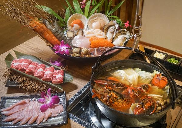 巷仔內藏美食!老饕推薦超新鮮海陸龍蝦鍋-五本日本料理