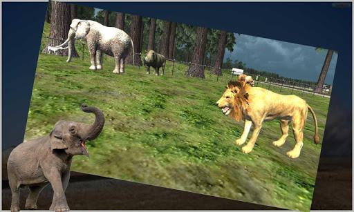 玩免費模擬APP|下載動物の列車の輸送 app不用錢|硬是要APP