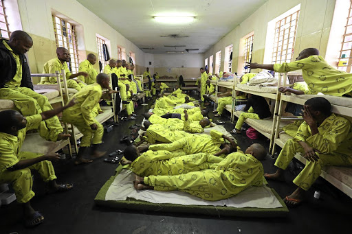Systemic failure: SA's prison system has not proved to be an effective crime deterrent, with high rates of recidivism. Prison conditions are also inconsistent with prisoners' rights to human dignity, and alternatives to incarceration such as behavioural change intervention should take centre stage. Picture: JACKIE CLAUSEN