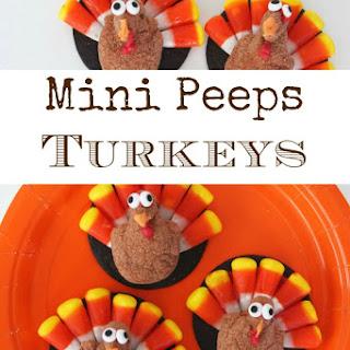 Peeps Minis Turkeys