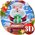 Cute Santa Christmas Keyboard Theme APK
