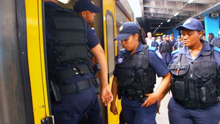 Cape Town's new Rail Enforcement Unit started their first day on the job on October 29 2018, with the goal of dealing with crimes that have left the city with just 40 serviceable trains