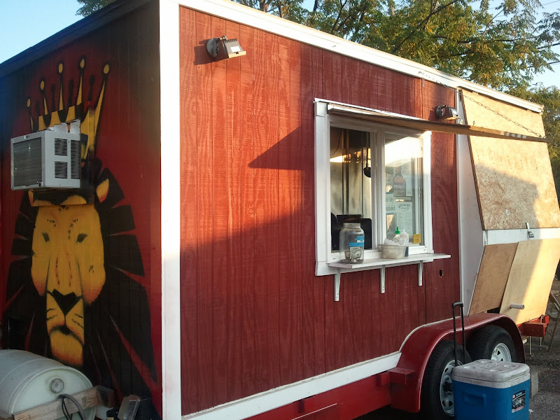 Photo: East Side Kings truck #2 at The Grackle bar.