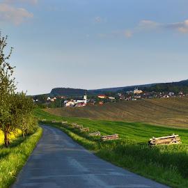 View by Marie Vachulková - Landscapes Prairies, Meadows & Fields