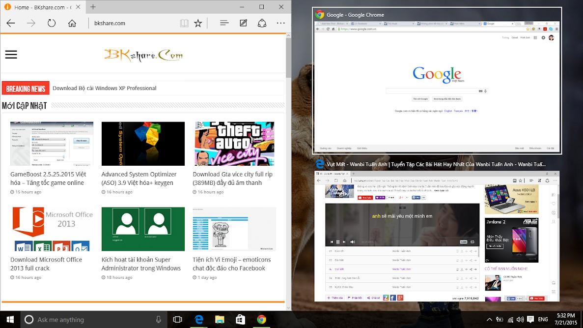 Những phím tắt hay cho Windows 10 1