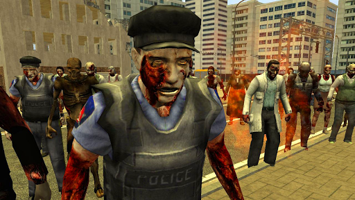 Zombie Street Auto 3D