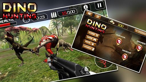 玩免費動作APP|下載Dino Shooter: Dinosaur Hunter app不用錢|硬是要APP