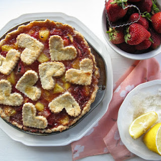 Gluten-Free Peach & Strawberry Pie
