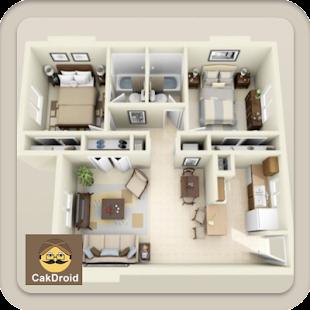 3D domácí design - náhled