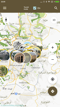 Jerusalem Map offlineのおすすめ画像4