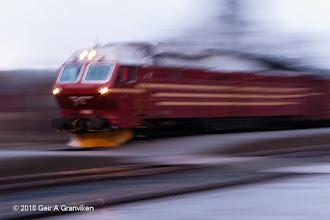 Photo: Locomotive ghost (Di4)