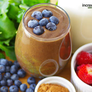 Acai with Strawberry and Blueberry Smoothie.