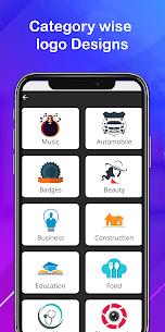 Logo maker 2020 3D logo designer, Logo Creator app 4