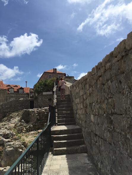 ドゥブロヴニク旧市街 城壁