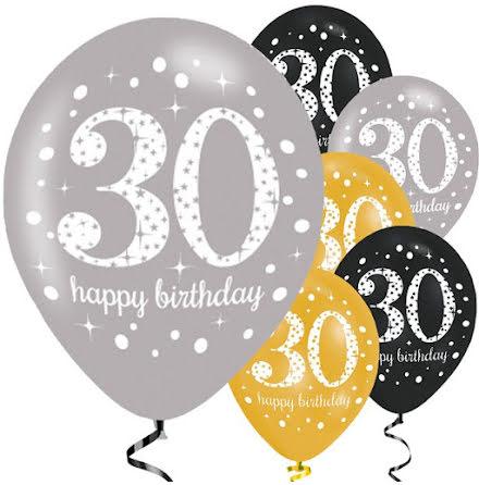 Ballonger - Sparkling celebration 30
