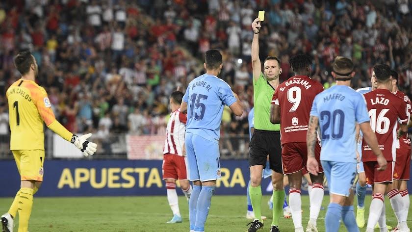 López Toca pitará el Almería-Sporting.