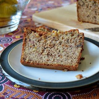 Grain & Sugar Free Banana and Walnut Bread GF SCD