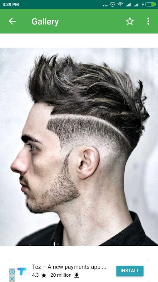 Afro Boys Hairstyle