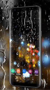 Waterdrops Live Wallpaper 2018 - náhled