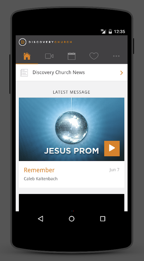 Discovery Church- screenshot