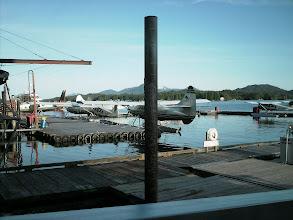 Photo: Ketchikan sea plane dock.