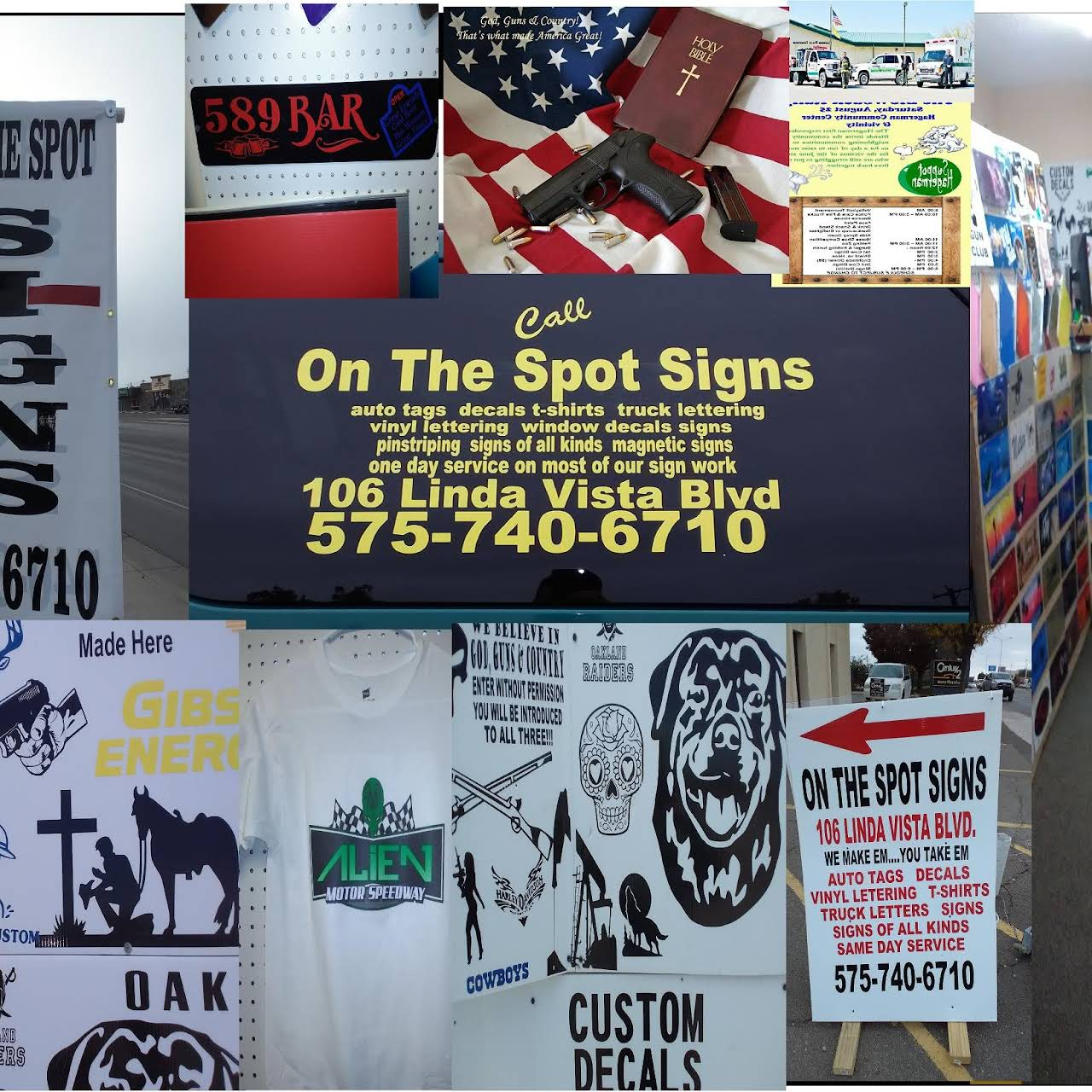 On The Spot Signs - Sign Shop in Roswell