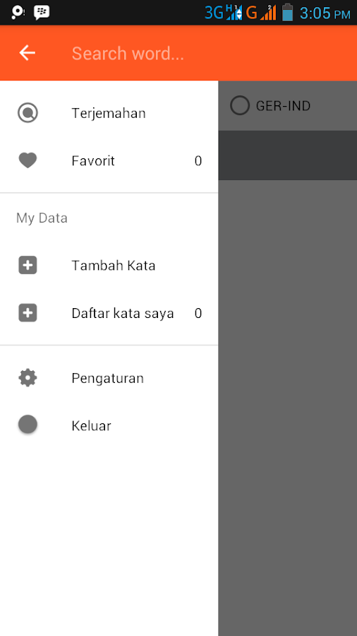 Kamus Indonesia Jerman Offline- screenshot