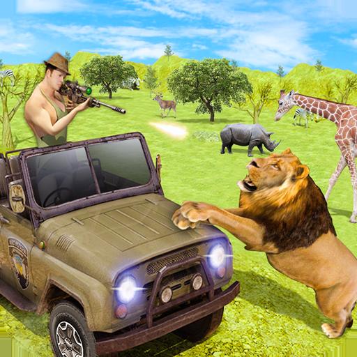 Sniper Safari jeep Animal Hunt