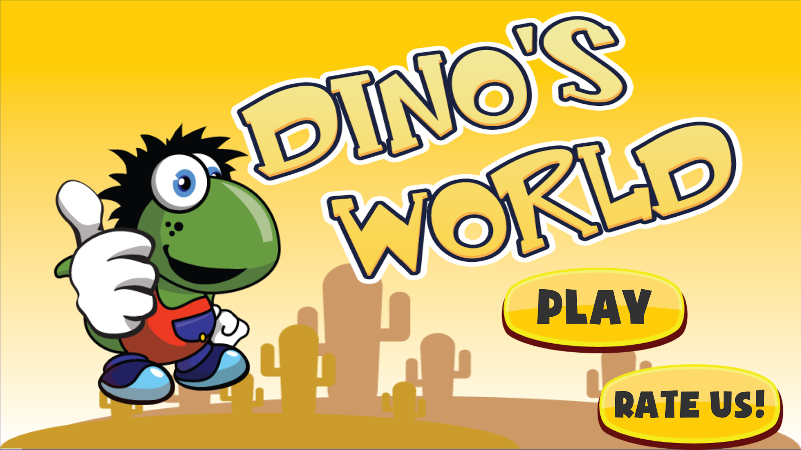 Dino Platform Adventure- screenshot