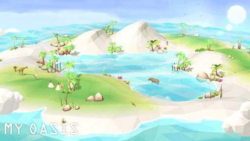 My Oasis - Calming and Relaxing Incremental Game  screenshots 2
