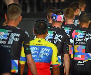 Dat noemen ze dan iets 'speciaal': geen eenden op Giro-trui maar wel vlaggen à volonté