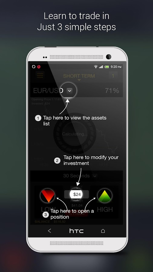 Binary options trading android