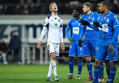 La Gantoise s'en contentera, Anderlecht aura des regrets au terme d'un vrai match de PO1